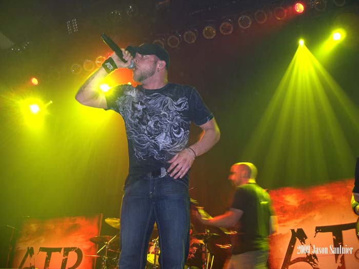 All That Remains philip labonte live