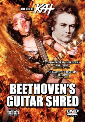 The Great Kat Beethovens Guitar Shred DVD
