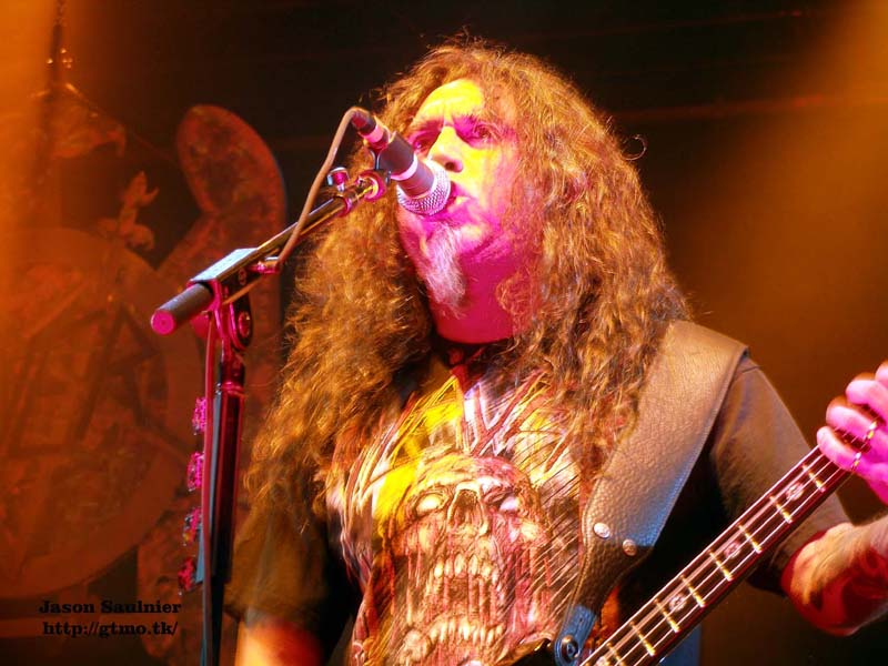 Slayer Halifax, NS Canadian Carnage Tour July 26, 2010