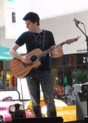 Frank Palangi acoustic guitar