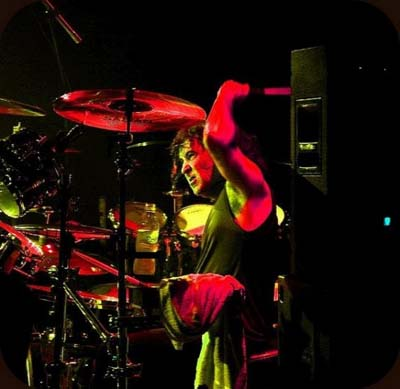 Simon Wright drummer live