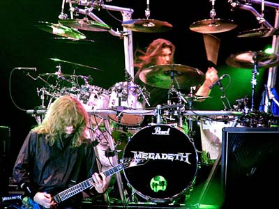 Megadeth Bucharest 2005 Shawn Drover
