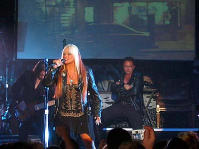 Pamela Moore: Vocalist on Queensryche / Operation Mindcrime 2010 Interviews