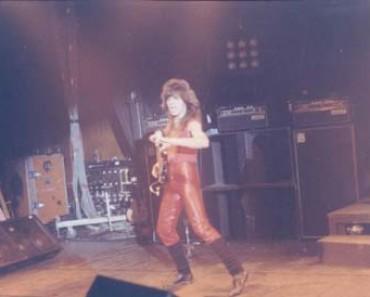 Rudy Sarzo live 1982