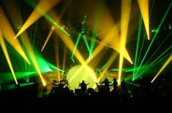 The Australian Pink Floyd Show lights