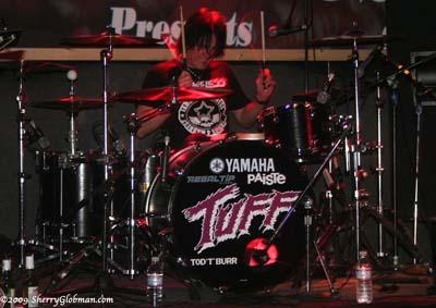 Tuff Interview | Drummer Tod Burr