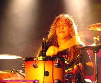 Troy Patrick Ferrall drummer