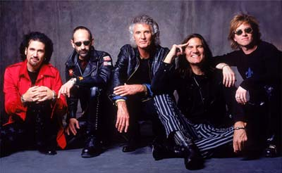 Grand Funk Railroad band with bruce kulick