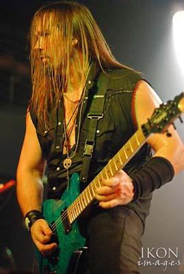 Steve Blaze guitarist for Lillian Axe