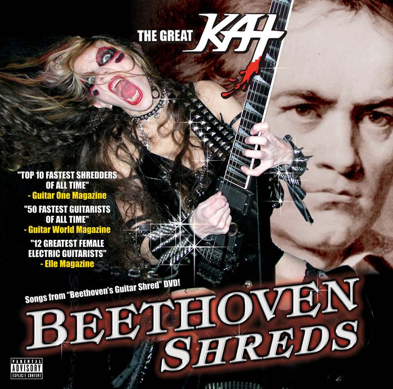 The Great Kat – Beethoven Shreds – 2011 CD Review