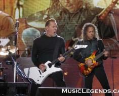 James Hetfield and Kirk Hammett live in Halifax with Metallica