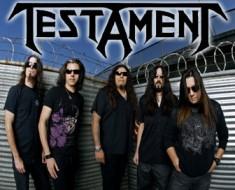 Testament band promo