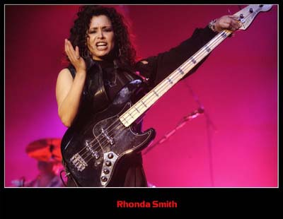 Rhonda Smith bass
