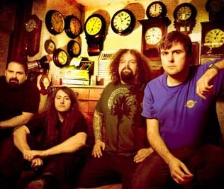 Napalm Death band photo