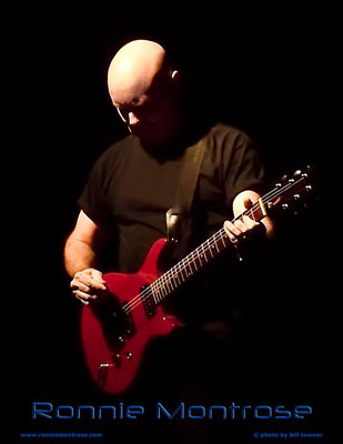 Ronnie Montrose red guitar