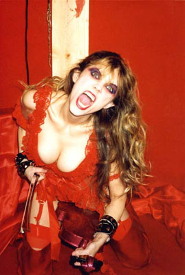 The Great Kat red nylons