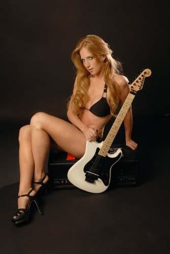 Courtney Cox bikini and high heels