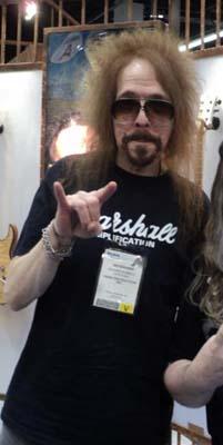 Claude Schnell Interview 2012: Dio keyboard player