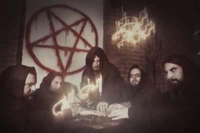 The Black Dahlia Murder band pentagram photo