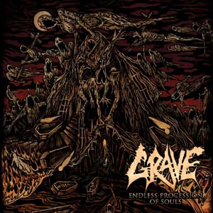 Grave Endless procession of souls