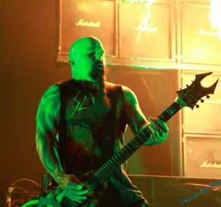 Slayer Kerry King Mayhem Festival bc rich