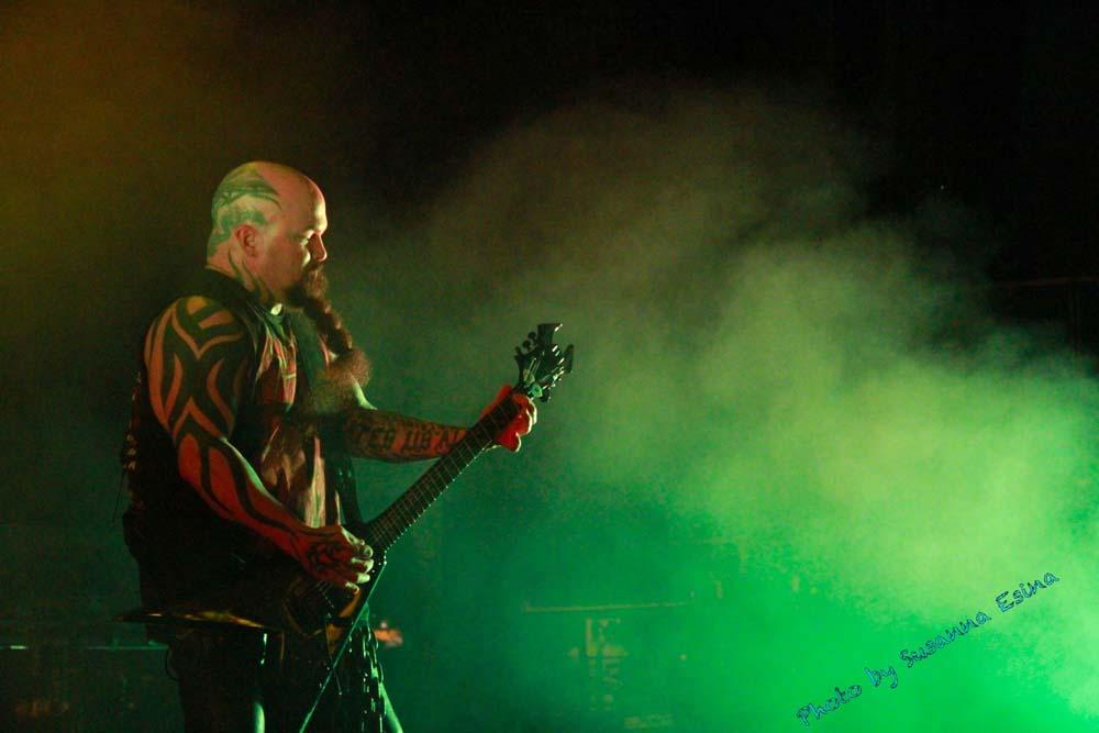 Slayer Kerry King Mayhem Festival live