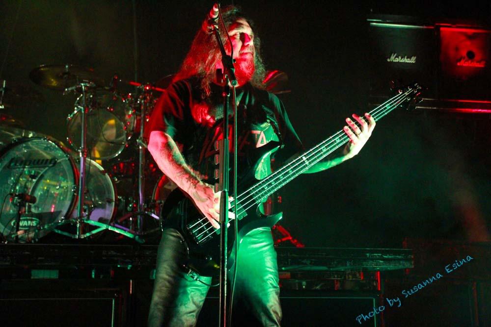 Slayer Tom Araya Mayhem Festival esp bass