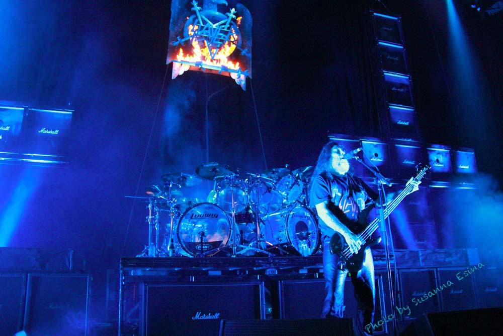 Slayer tom araya live at Mayhem Festival