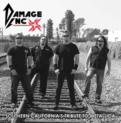 Damage Inc. Interview | Frontman Chris Knight on Metallica Tribute