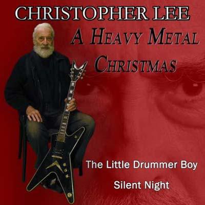 Christopher Lee christmas metal