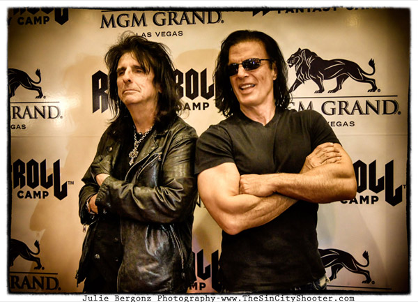 Alice Cooper and Kane Roberts Rock and Roll Fantasy Camp 2013-02-16
