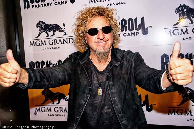 Sammy Hagar Rock and Roll Fantasy Camp MGM Vegas 2013-03-08