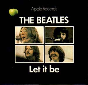 The Beatles Let It Be 1970 single