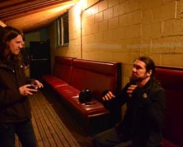 goatwhore singer Ben Falgoust and Jason Saulnier