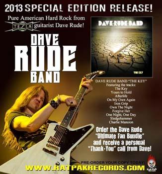 Dave Rude the key promo