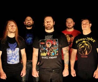 The Black Dahlia Murder band 2013