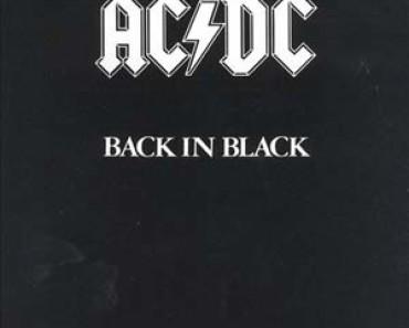 ac/dc back in black album