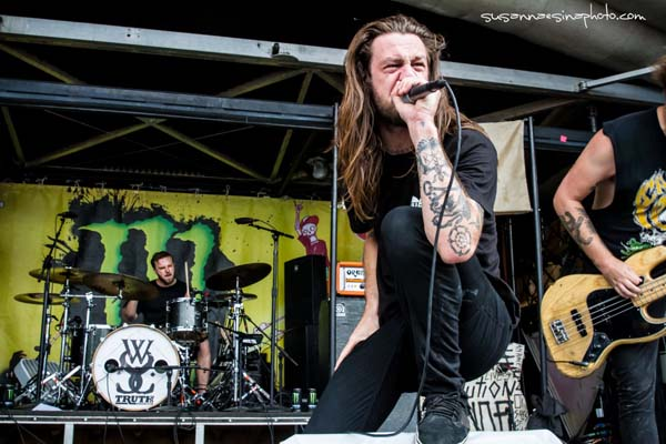 While She Sleeps Warped Tour Mansfield, MA 2013-07-11