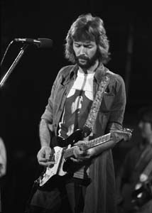 Eric Clapton Top Songs : English rock and blues guitarist