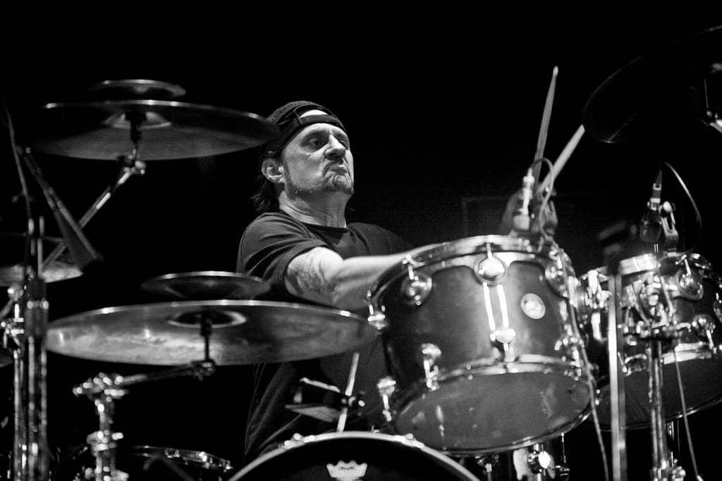 Dave Lombardo drumming live