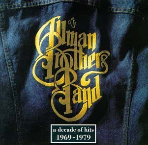 allman brothers band a decade of hits album