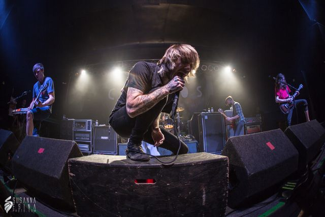 Chiodos Crowd Surf America Tour in Hartford, CT 2014-08-21