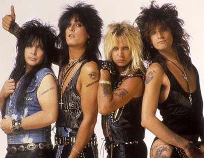 Motley Crue Top Songs : American heavy metal band