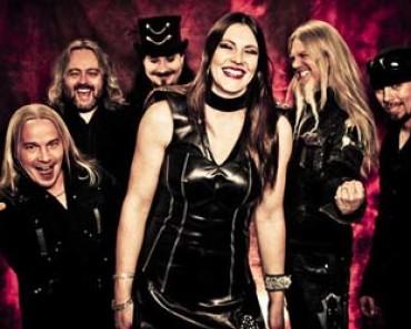 Nightwish band photo smilling 2014