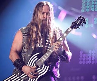 Zakk Wylde live with Black Label Society 2014