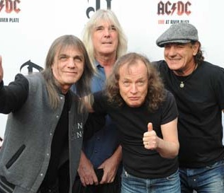 acdc group photo with malcolm young 2011