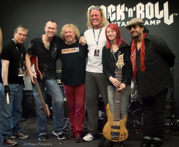sammy hagar rock n roll fantasy camp