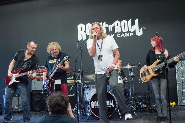 sammy hagar rock n roll fantasy camp live