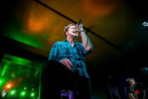 Adelitas Way singer live on stage