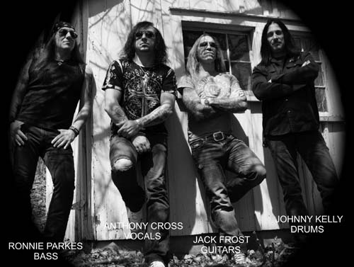 Seven Witches Interview with guitarist Jack Frost